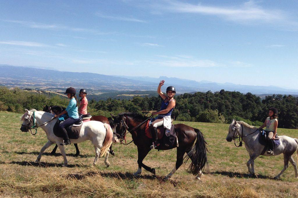 Randonées chevaux equestre